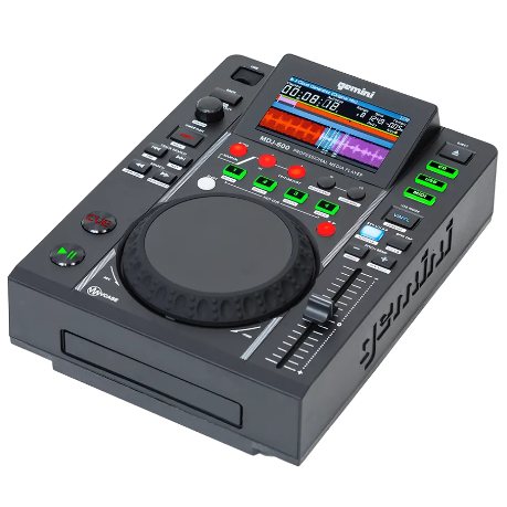 MDJ-600: PROFESSIONAL CD AND USB MEDIA PLAYER