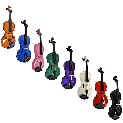 Colored 4/4 Violin Ensemble Outift