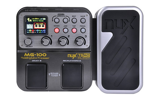 Nux MG-100 Multi-Efftect Processor and Looper Pedal