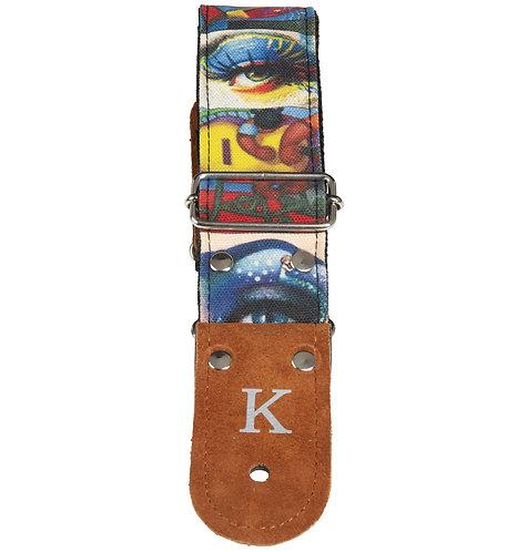 Godin Kidam Guitar Art Strap 049158