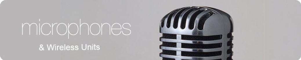 """Microphones, Microphone, mic, Wireless mic, Wireless, Wireless, microphone, Shure, Audio Technica, Electro voice, AKG, sennhieser, UHF, VHF, XLR, 1/4"""""""