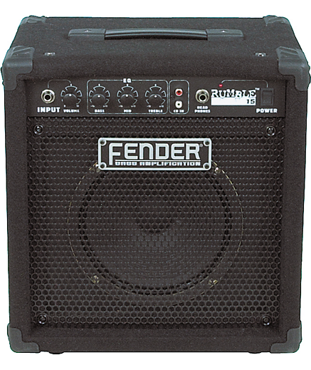 Fender Rumble 15 Bass Combo Amp