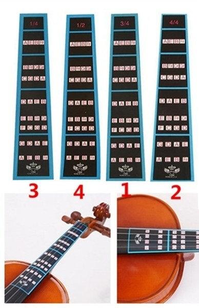 Violin Fret Board Stickers