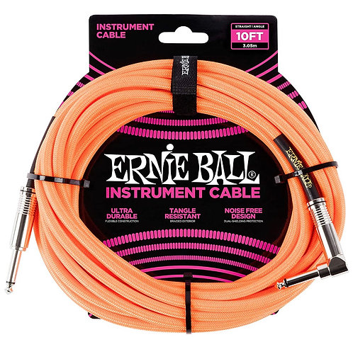 Ernie Ball Instrument Cable 10 Feet