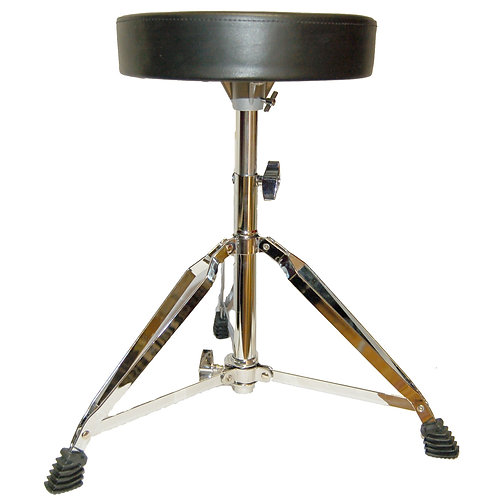 Round Padded Double Braced Drum Throne