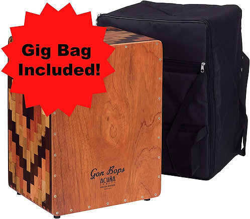 Gon Bops AACJSE Alex Acuna Special Edition Cajon