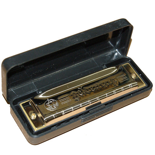 Golden Cup 10-hole Harmonica