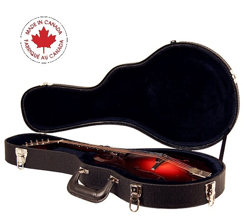 Hardshell Wood Arch Top Mandolin Case - Canadian Made