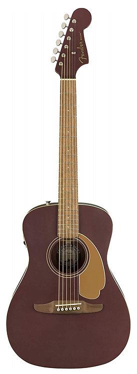 Fender Malibu Player Acoustic Electric Guitar - Burgundy Satin
