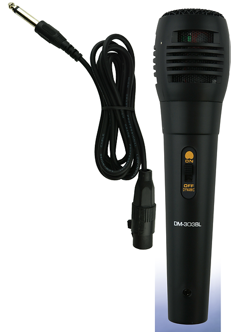 Handheld Unidirectional Dynamic Microphone with Cable