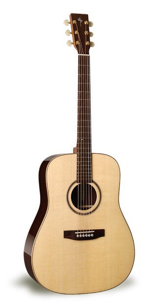 Simon & Patrick 029105 Woodland Spruce A3T Acoustic 6 String Guitar