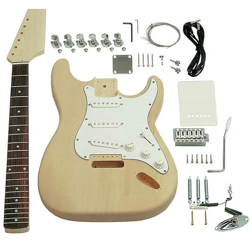 DIY Electric Guitar Kit - Strat Style Build Your Own Guitar