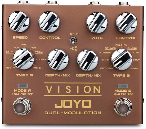 JOYO Vision R-09 Dual Channel Modulation 9 Multi Effects