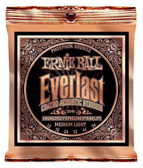 Ernie Ball Everlast Coated Acoustic Strings