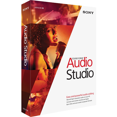 Sound Forge Audio Studio Recording Software by Magix