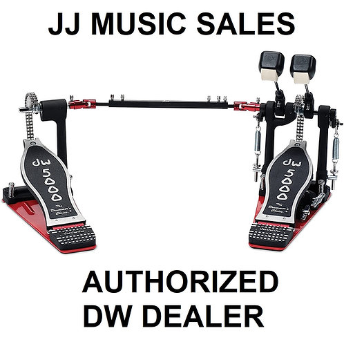 DRUM WORKSHOP DW-5002AD4 Double Bass Drum Pedal (INCLUDES TRAVEL BAG)