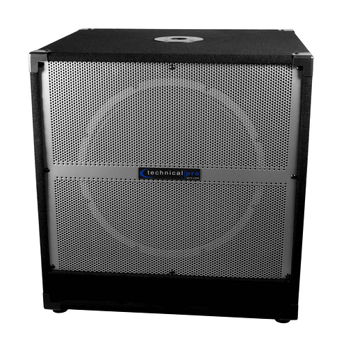 "Technical Pro XTREME 15"" Active (Powered) Subwoofer"