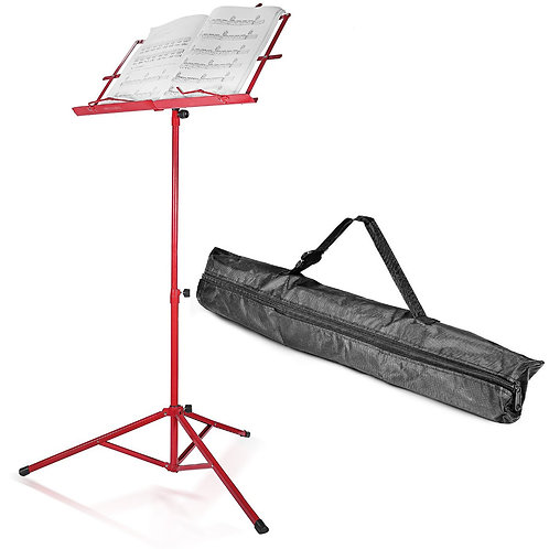 Music Stand with Carry Bag - Various Colours