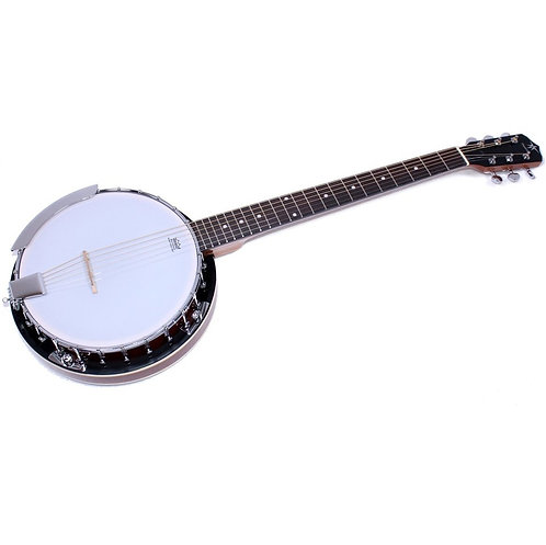 Danville 24 Bracket 6-String Resonator Banjo Banjitar Guitar