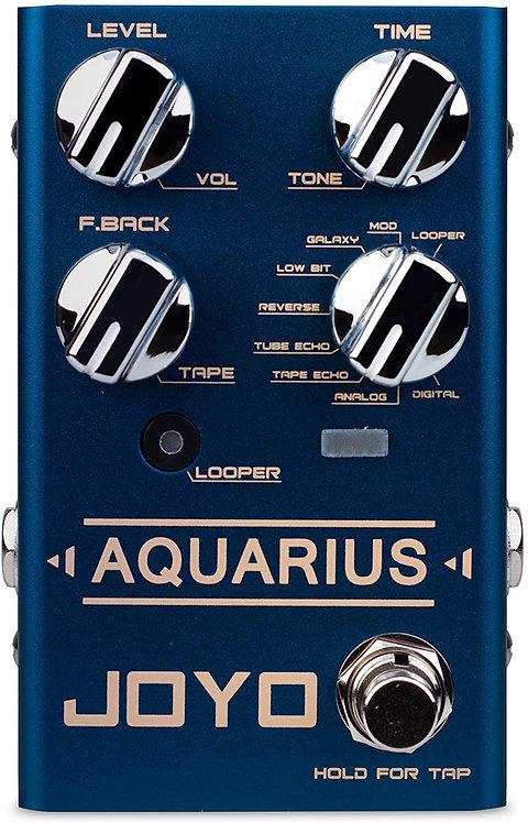 JOYO R-07 AQUARIUS Delay + LOOPER Multi Guitar Effect Pedal