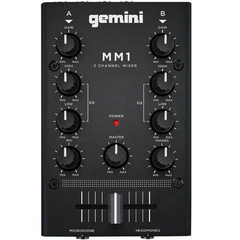 MM1: 2-CHANNEL POCKET-SIZED DJ MIXER