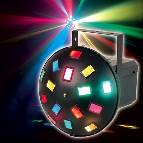 LED Vertigo Mushroom DMX Light by Zebra DJ