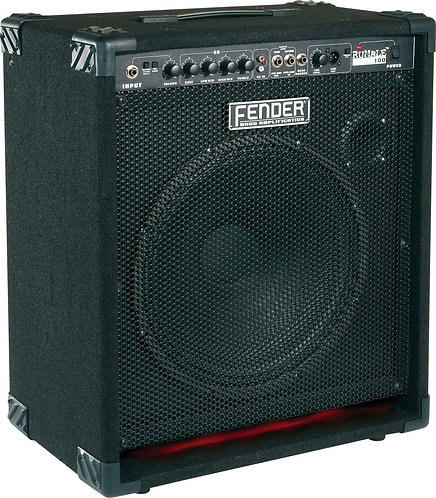 Fender Rumble 100 Bass Combo Amp With Wheels