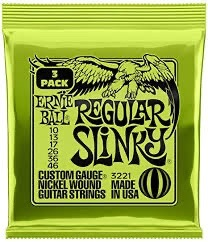 Ernie Ball Slinky 3 Packs Electric