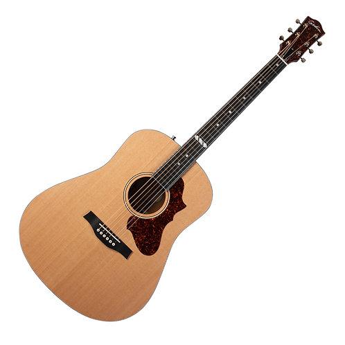 Godin Metropolis LTD Natural Cedar EQ 6 String Acoustic Electric Guitar w/Case