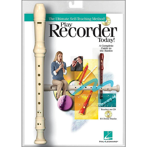 Play Recorder Today! Recorder, Book & CD Package