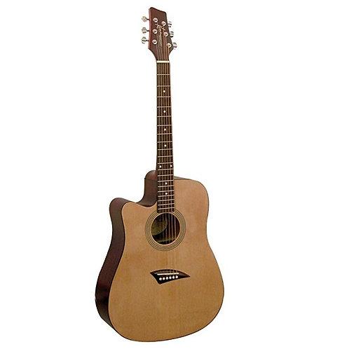 Kona K1L Left Handed Cutaway Acoustic Guitar