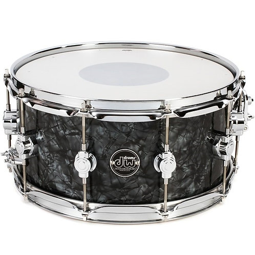 "DW USA Performance Series Snare Drum - 6.5"" x 14"" Black Diamond"