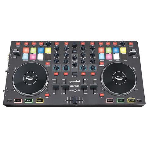 Gemini Slate 4 Channel Serato DJ Controller
