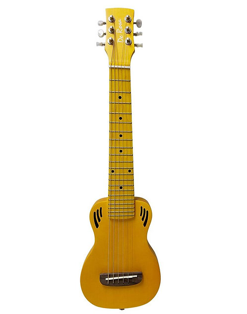 "25"" Travel Guitalele With Carrying Bag & Extra Strings"