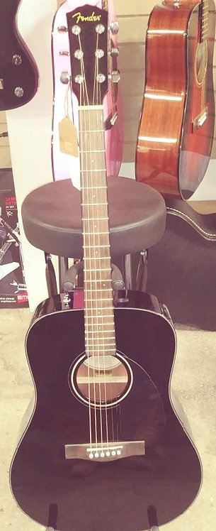 Fender CD-60 Acoustic Dreadnought Guitar Black