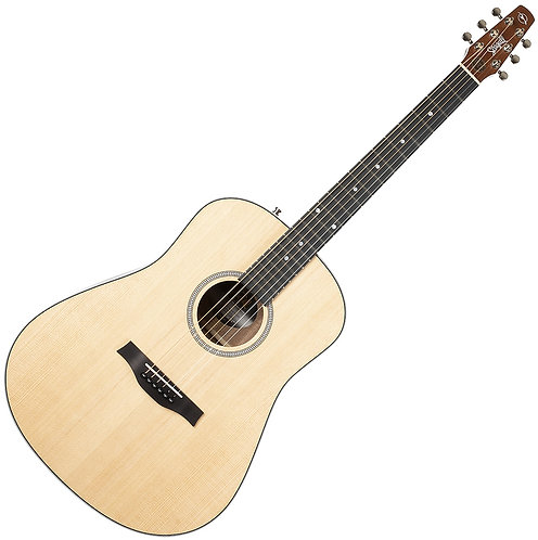 Seagull Maritime SWS 6-String RH Acoustic Electric Guitar-Natural Made In