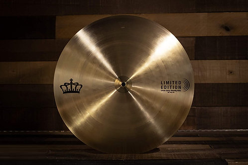 "SABIAN LIMITED EDITION 18"" CHICK COREA ROYALTY RIDE LE CYMBAL"