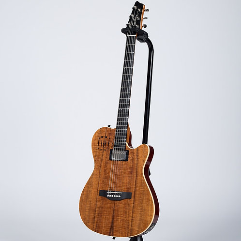 Godin A6 Extreme KOA High Gloss 6 String Right Handed Acoustic Electric Guitar