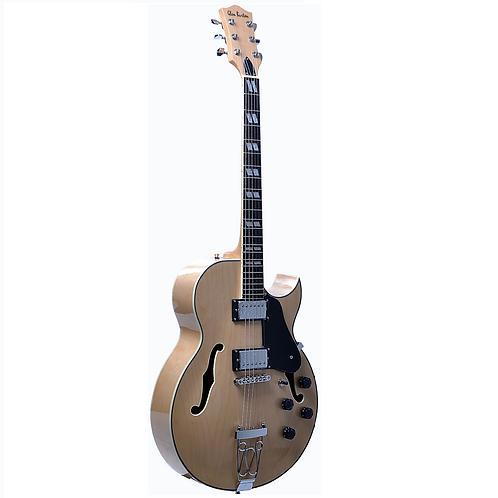 "Glen Burton GBEH775-NT ""Chicago"" Hollow Body Electric Guitar"