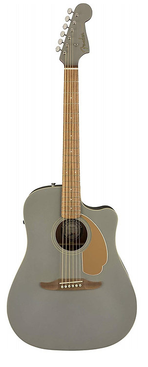 Fender Redondo Player Acoustic Electric Guitar - Slate Satin