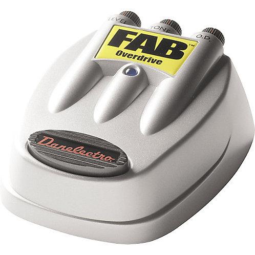 Danelectro D-2 FAB Overdrive Guitar Effects Pedal