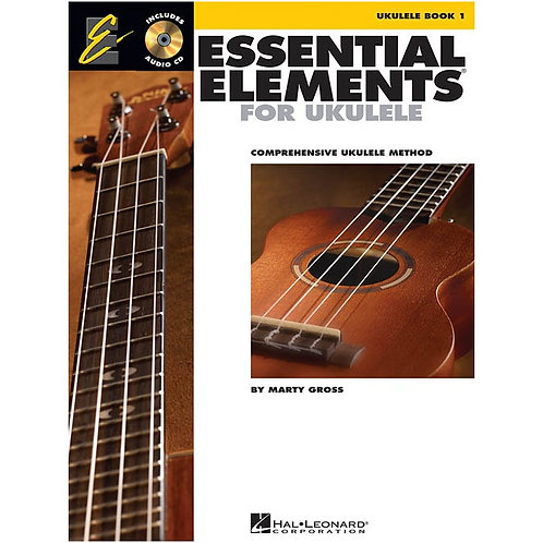 Essential Elements for Ukulele – Method Book 1 by Hal Leonard