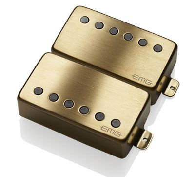 "EMG JH ""HET"" Set (James Hetfield Signature Pickup Set) - BRUSHED GOLD"