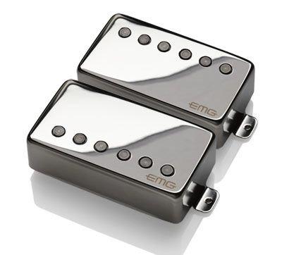 "EMG JH ""HET"" Set (James Hetfield Signature Pickup Set) - CHROME"