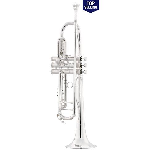 King Silver Flair Series 2055T Bb Trumpet 1st Valve Thumb Trigger