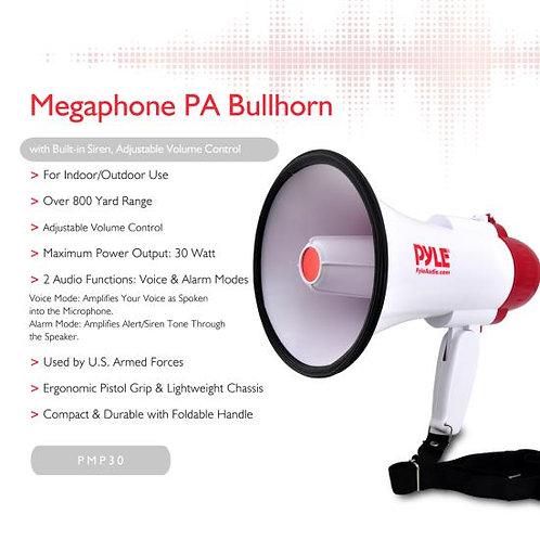 Pyle Pro PMP30 Megaphone PA Bullhorn