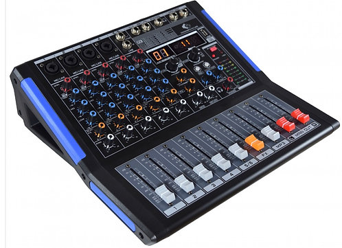 GRF MWA Series - MWA06FX-R-USB - 6 Channel Mixer