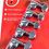 Thumbnail: MINI LOCKING ROTOMATICS® CHROME SET 6 6-IN-LINE