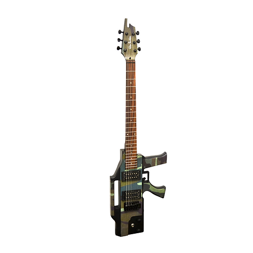 Glen Burton AK47 Machine Gun Electric Guitar
