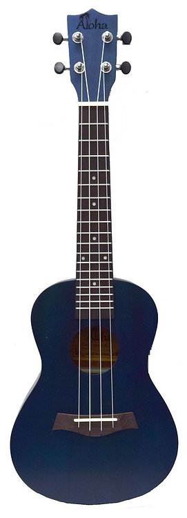 Aloha Soprano Ukulele Coloured Matt Finish